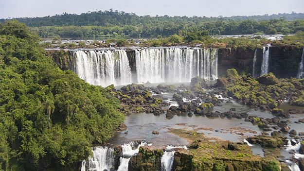The amazing Iguacu Falls.