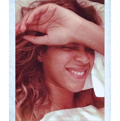 Beyonce is even flawless in bed.