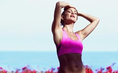 Actress Kate Hudson shares workout tips