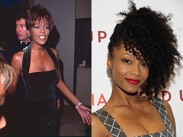 Whitney Huston's biopic is set to be in pre-production with Yaya DaCosta set to play the legendary singer.