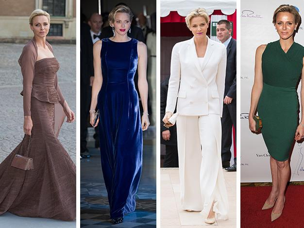Despite never meeting Grace Kelly, stylish Princess Charlene will be forever compared to her beautiful fair haired late mother-in-law, Princess Grace.