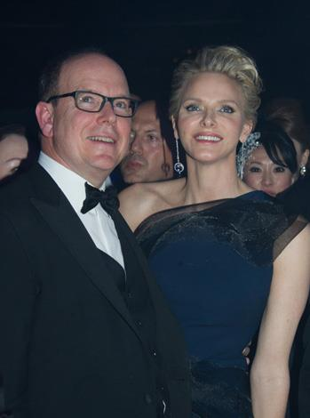 Charlene and Albert made an elegant pair while at the Rose Ball this year.