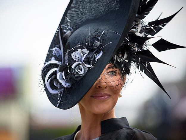 Hats remain compulsory at Royal Ascot Racecourse. This elegant do is one of our favourites.
