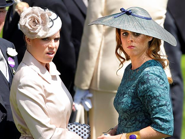 Princess Eugenie of York and Princess Beatrice of York.