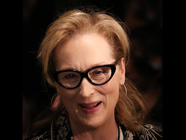 """A Conversation With Meryl Streep"" presented by the University of Massachusetts this year."