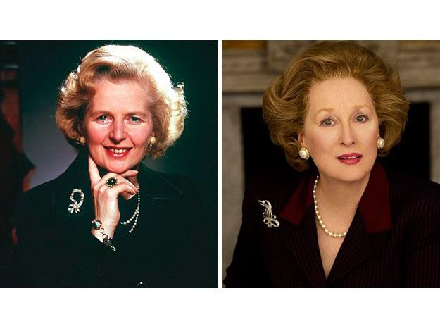 It was one of many incredible transformations Streep has made into her characters.