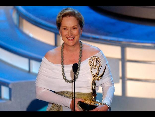 Meryl was the Emmy Award winner of Outstanding Lead Actress for Angels in America in 2003.