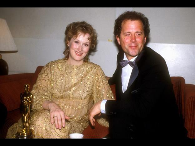 With Don Gummer, her husband since 1978.