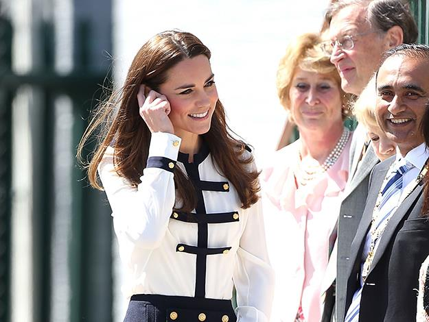 The Duchess of Cambridge was able to learn about her grandmother's wartime experience from Lady Marion Body who worked with Valerie Glassborow and recalled being at work with her when they heard that the war in Europe had ended.