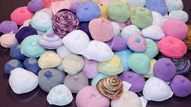 Knitted Knockers: Stitching together hope for breast cancer survivors