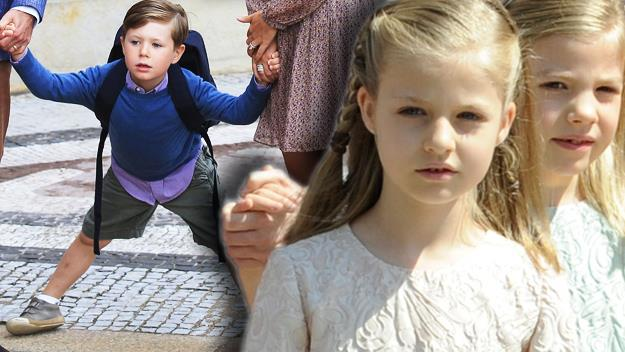 Princess Athena and Prince Vincent of Denmark
