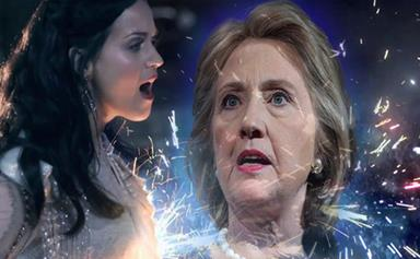 Hillary Clinton and Katy Perry's campaign song