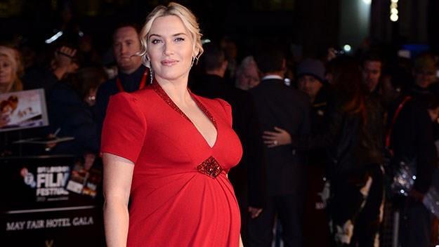Kate Winslet pregnant