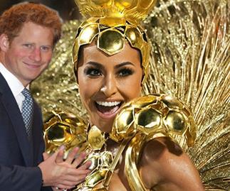 Prince Harry Carnivale in Brazil