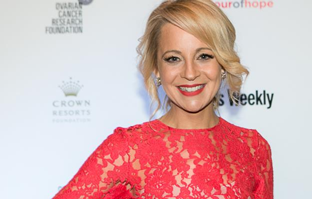 Carrie Bickmore.Photo: Les Hallack