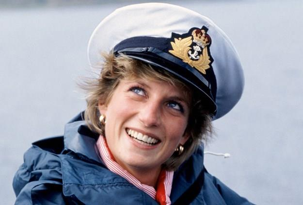 A glowing Princess Diana in 1986.
