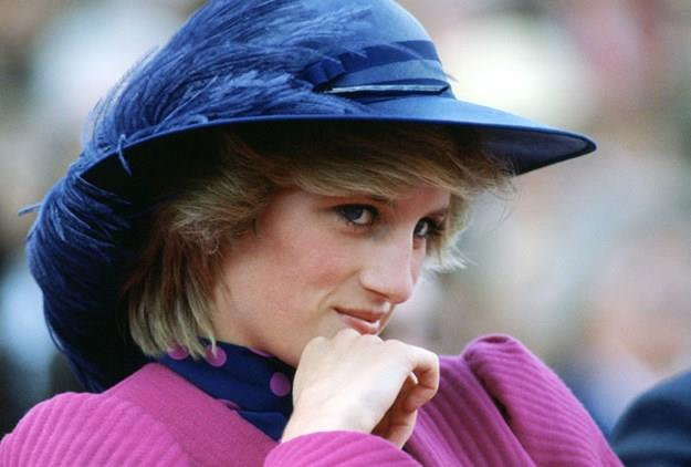 An undated photo of Diana in Canada.