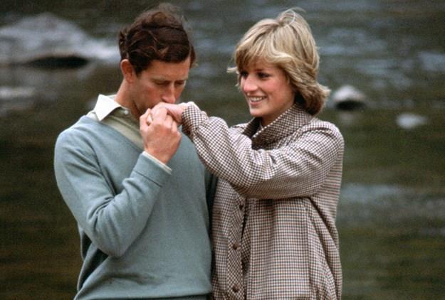 The royal couple on their honeymoon.