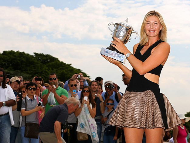 **Maria Sharapova: $31.5 million** According to *Forbes* magazine Maria Sharapova still reigns supreme as the highest paid woman in sport earning an estimated $31.5 million in 2013. The 1.88 meter Russian tennis champ is a marketers dream and has signed lucrative deals with sponsors Nike and Head and Tag Heuer. The 27-year-old also founded premium confectionary brand, Sugarpova in 2013 which has generated an estimated $6 million in global sales.
