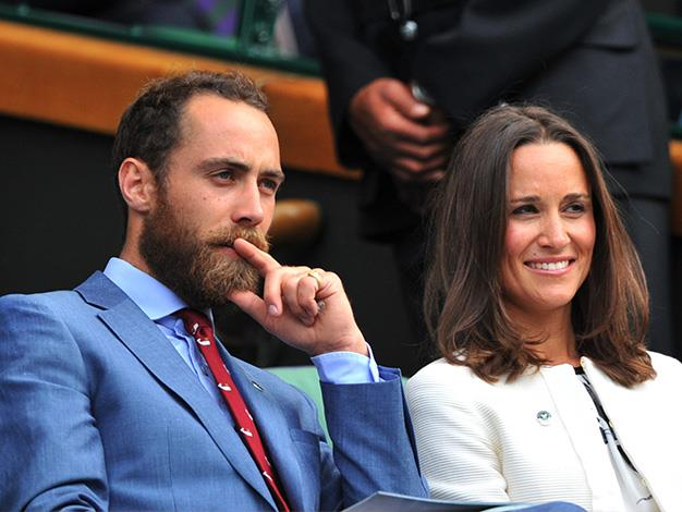 No matter how grizzly his bearded disguise, James Middleton didn't go unnoticed with sister Pippa in the royal box at Wimbledon this year.