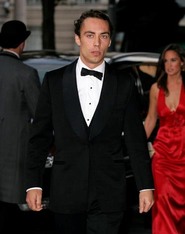 A very suave looking James arrives for the Boodles Boxing Ball at Park Plaza Westminster Bridge Hotel in 2011.