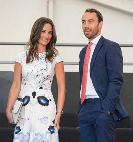 Pippa Middleton and James Middleton in the royal box during the Coronation Festival Evening Gala at Buckingham Palace on July 11, 2013 in London.