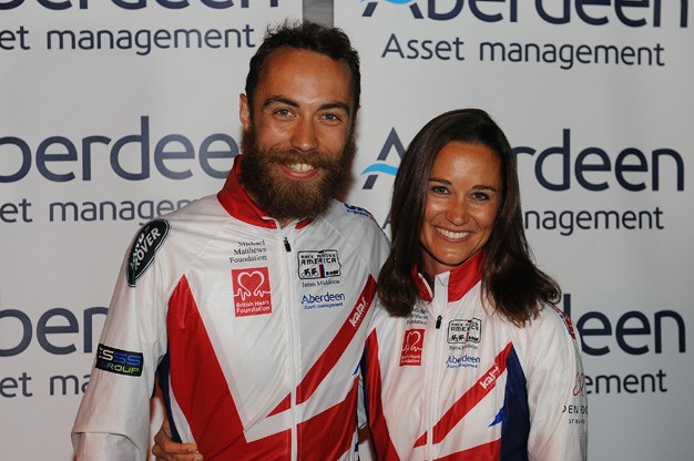 While he has kept a lower profile than Pippa, James joined his sister on a charity bike ride in the US earlier this year.