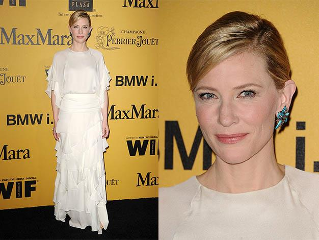 Cate at the Women In Film 2014 Crystal + Lucy Awards at the Hyatt Regency Century Plaza on June 11, 2014 in Century City, California.