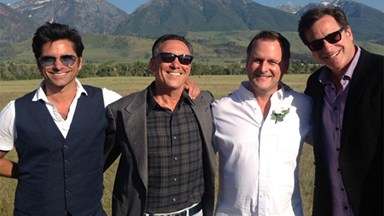 Full House cast reunite at Dave Coulier's wedding