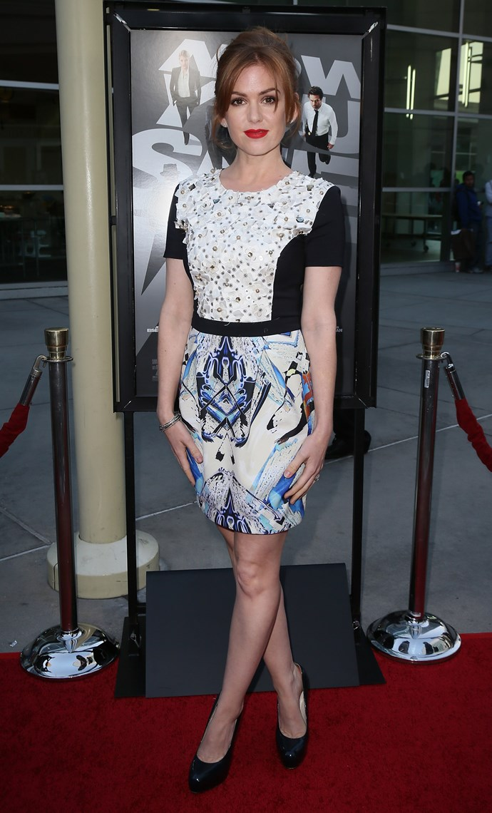 The Aussie star looked stunning at a screening of 'Now You See Me' in Hollywood.