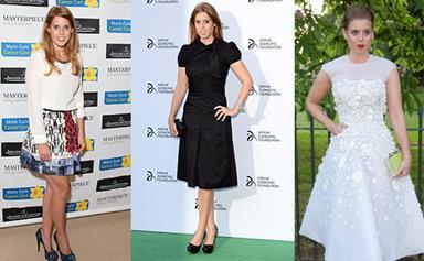 Princess Beatrice's style evolution