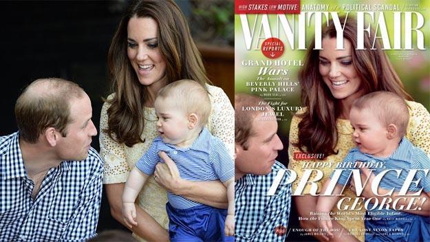 Prince George Vanity Fair cover