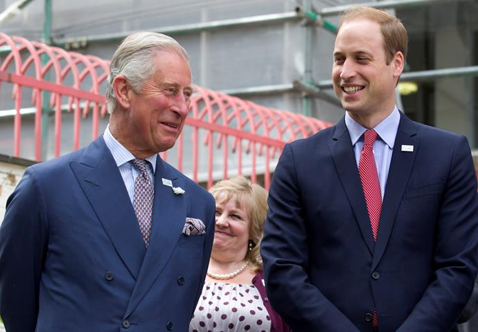 "Prince Charles was a bemused when he was described as ""buff"". William had to explain the meaning."