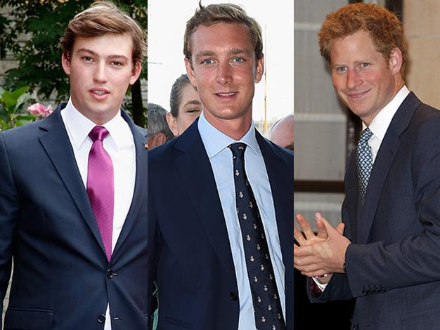 Pierre Rainier Stefano Casiraghi of Monaco, Prince Sebastien of Luxembourg and of course Prince Harry of Great Britain are all unwed sovereigns making them instantly some of the best bachelors on the singles market.