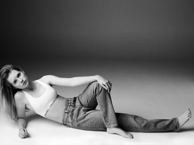 Kate Moss's half-sister Lottie is the new face of Calvin Klein.