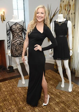 Kate Husdon is such a big fan of the LBD she created an LBD collection for American label, Ann Taylor.