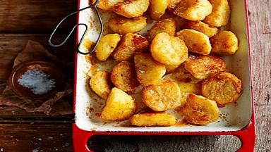 Salt and pepper roast potatoes