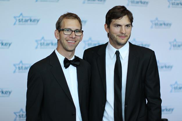 Ashton Kutcher has a twin brother, Michael. Michael has Cerebral Palsy and is an advocate for children with the disorder.