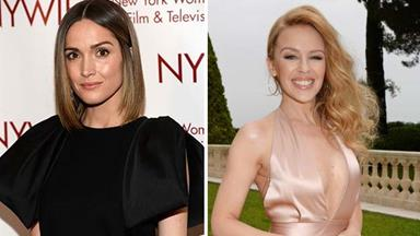 Rose Byrne says she wanted to be Kylie Minogue