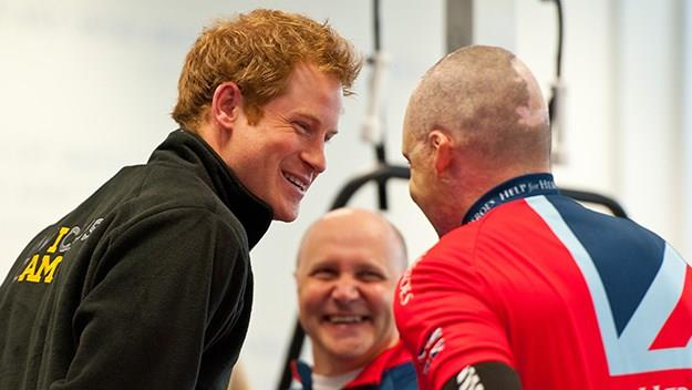 Earlier this year Prince Harry met with the injured personnel hoping to qualify as part of the British Armed Forces team.