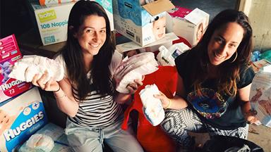 The Nappy Collective donates nappies to disadvantaged mothers