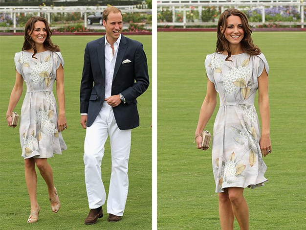Kate in the Jenny Packham dress in 2011.