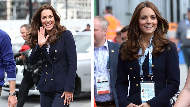 Kate Middleton Zara jacket