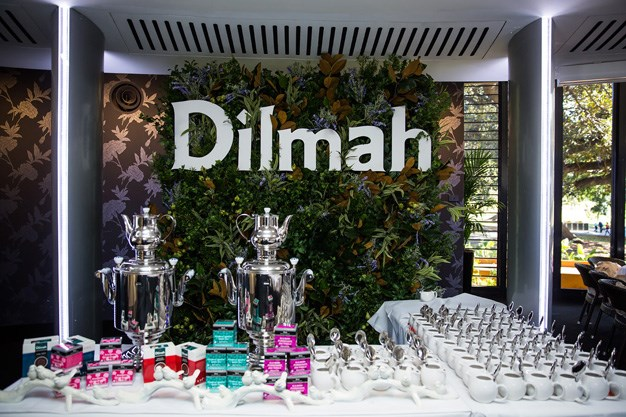 Guests sipped on the finest Ceylon tea from Dilmah.
