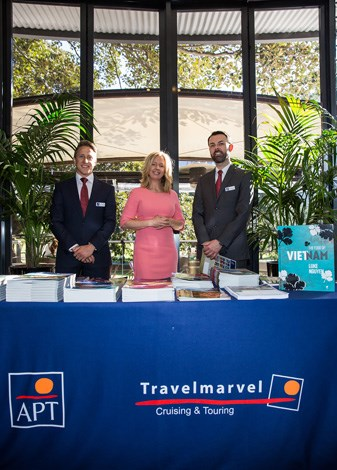 Premium river cruising and fully escorted holiday company Travel Marvel were a sponsor of the event.