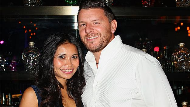 Manu Feildel and Clarissa Weerasena