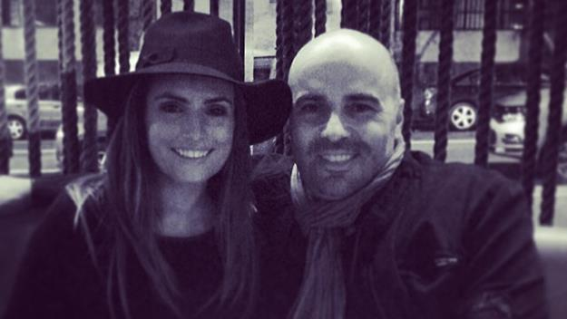 Ada Nicodemou and her husband Chrys Xipolitas posted on Ada's Instagram