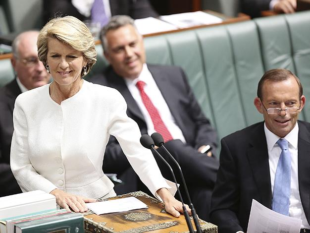 Julie Bishop reveals how she attended National Security Committee meeting in her PJ's.