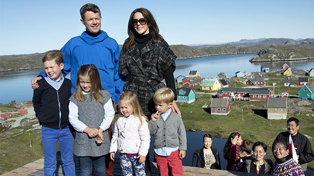 Princess Mary and Prince Frederick in Greenland