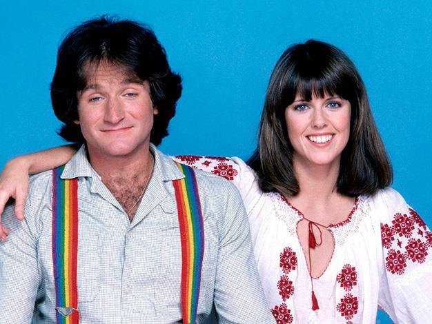 Robin Williams first found fame on the American sitcom *Mork and Mindy* which ran from 1978-1982. PHOTO: Press image/ ABC Network.